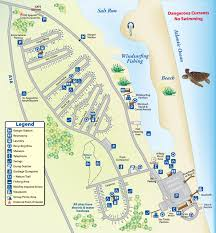 Florida Trail Map by Map Of T H Stone Memorial St Joseph Peninsula State Park Florida