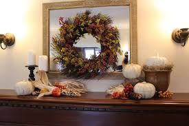 fall decorating ideas mantel new house new home