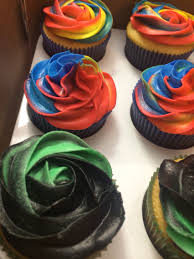 superhero cupcakes roses boys and girls cupcakes made by mandy