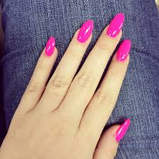 nail design pink and pointy for me today nails pinterest