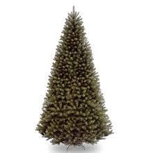 12 ft eastern pine slim artificial tree unlit