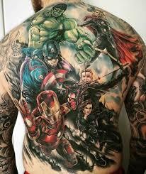 více než 25 trendy nápadů na téma marvel tattoos na pinterestu