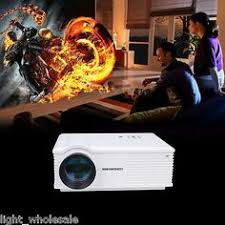 sale new home theater 2600lms multimedia lcd led projector hd