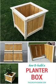 Patio Planter Box Plans by Best 25 Planter Boxes Ideas On Pinterest Diy Planters
