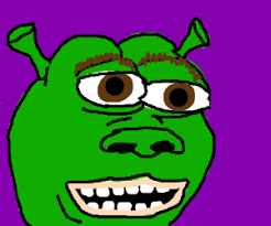 Shrek Meme - shrek meme drawing by robotx211