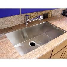Under Mount Kitchen Sink by 36 Inch Stainless Steel Undermount Single Bowl Kitchen Sink Zero