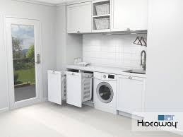 hidden laundry hamper hidden storage solutions for laundries architecture and design