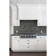 aspect metal tiles lowes cool in x in loren place sea shell glass