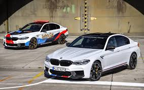first bmw m5 2018 bmw m5 m performance parts revealed with motogp car