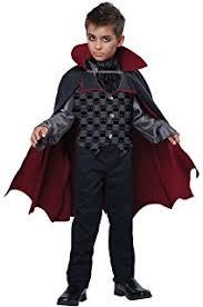 Vampire Costumes For Kids Amazon Com Boys Kids Vampire Halloween Costume Dracula Size 5 6