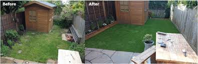 premium artificial astroturf grass installation in london this is