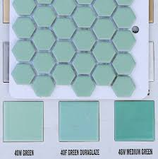 Bathroom Ceramic Tile by 2 New Porcelain Hex Tile Floor Options For Your Vintage Pastel