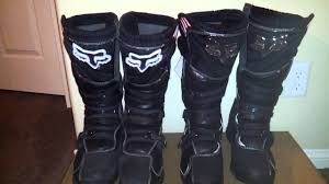 motocross boots size 13 fox comp5 size 12 vs size 13 youtube