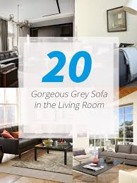 grey livingroom 20 gorgeous grey sofa in the living room home design lover