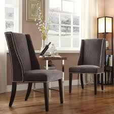 Ikea Dining Chairs Covers Gorgeous Brown Ikea Dining Chair Covers Paired With Small Square