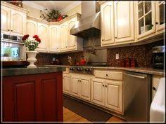 Antique Red Kitchen Cabinets by Decoration Magnetic Antique Red Kitchen Islands With Solid Wood