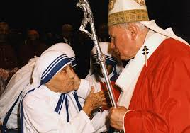 biography for mother photos mother teresa canonization for beatification pope francis