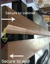 How To Install Wall Cabinets In Laundry Room How To Hang A Cabinet Using A French Cleat Laundry Room