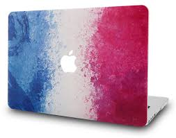 Frebch Flag Kec Macbook Case Oil Painting Collection French Flag