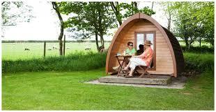 5 star luxury glamping pods in devon woodovis park 01822 832 968
