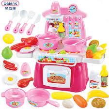 jeu cuisine enfant inbeajy jeux de simulation 23 pcs fille cuisine jouets enfants