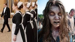 Downton Abbey Halloween Costumes Downton Abbey U0027 U0027the Walking Dead U0027 La Times