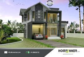 modern style house plans modern house plan kerala 2 bedroom plans in 3 and elevations