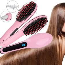 Catokan Rambut Tourmaline magic hair brush comb hair strightener catok sisir 2 in 1