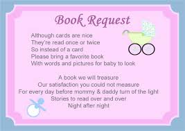 bring a book instead of a card baby shower baby shower book poems