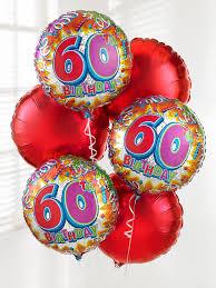 birthday balloon bouquet blooms for flowers glasgow choice florist 60th birthday