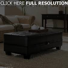Coffee Table Storage Ottoman With Tray by Garratt Coffee Table Storage Ottoman With Tray Side Ottomans