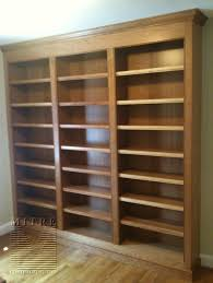 Woodworking Plans Rotating Bookshelf by Cherry Wood Bookcase Built In New House Stuff Pinterest