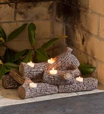 candle holder for fireplace binhminh decoration