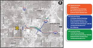 I 35 Map Joco Gateway Project Schedule Johnson County Gateway I 435 I