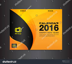 design templates print simple fashion ad banner orange cover calendar design templatecover design stock vector