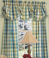 Country Plaid Curtains 126 Best Country Curtains And Decor Images On Pinterest