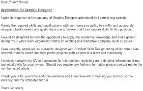 cover letter for design graphic design cover letter my document