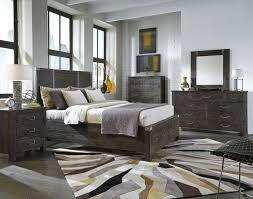 magnussen abington 4 piece panel storage bedroom set in weathered