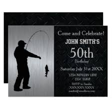 50th birthday invitations u0026 announcements zazzle canada