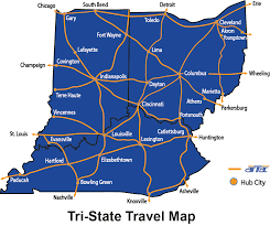 Map Of Tri State Area Uncategorized Airtrac Transport