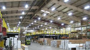 high bay led shop lights how to choose warehouse lighting modern place