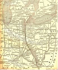 Map Of Toledo Ohio by Dt U0026i