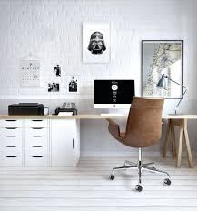 Ikea Sawhorse Desk Desk Grey And Scout Chic Home Office Design With White Sawhorse