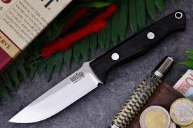 bark river kitchen knives bark river knives bravo edc fixed 3 375