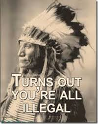 Native American Memes - obama s and the internet s idiotic native american immigration