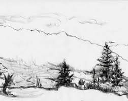 sketch tree etsy