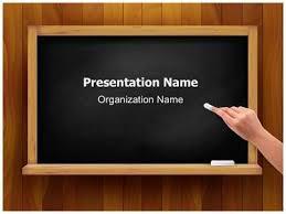 Teaching Theme Powerpoint Blackboard Clipart Powerpoint Theme Pencil Educational Powerpoint Themes
