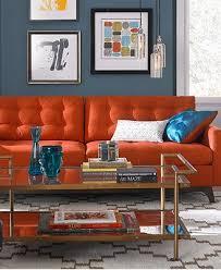Orange Sofa Living Room Ideas Orange Living Room Furniture Best 25 Orange Living Room Furniture