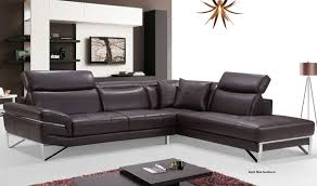 Free Sectional Sofa by 2194 Leather Sectional Sofa In Chocolate Free Shipping Get