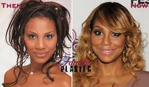 tamar braxton nose job before after chris brown thinks tamar braxton looks like a muppet and he s